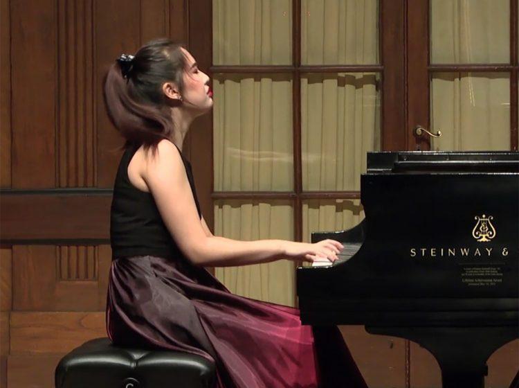 Pianist Chelsea Wang