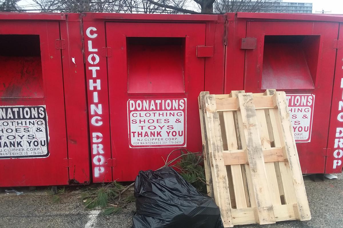 donations bins