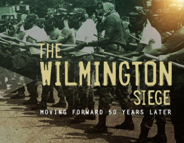 After rioting in Wilmington following King's death, the governor ordered in the National Guard to restore order. The Guard stayed for nine months. (Photo Courtesy/Delaware  Historical Society)