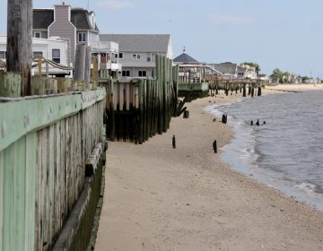 The bayfront town of Fortescue in Downe Township, New Jersey.