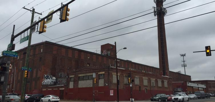 The former Frankford Chocolate Factory at 2101 Washington Avenue (Courtesy of OCF Realty)