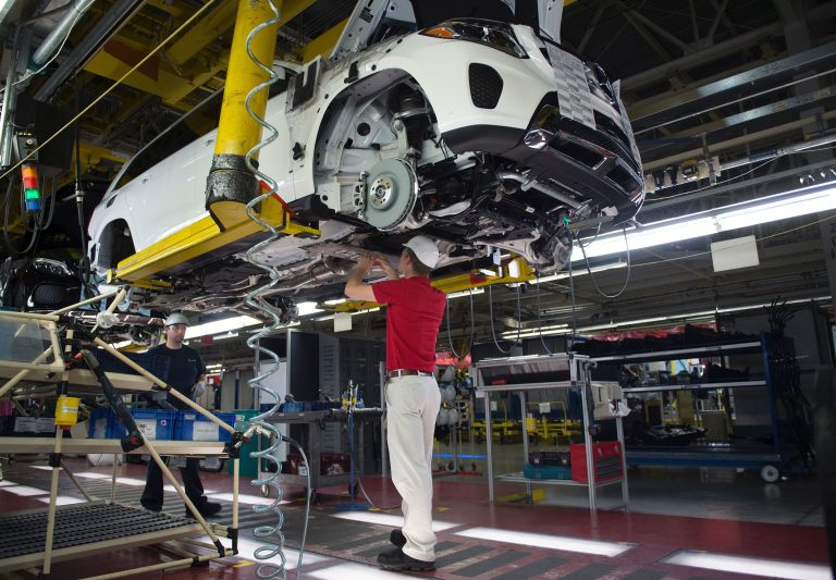 President Trump has continually called out China for its high tariffs and barriers to entry. But China isn't alone in zealously protecting its domestic auto market. (Andrew Caballero-Reynolds/AFP/Getty Images)