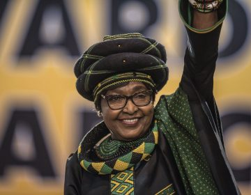 Winnie Mandela, anti-apartheid campaigner and wife of the late Nelson Mandela, attended ANC National Conference in December.