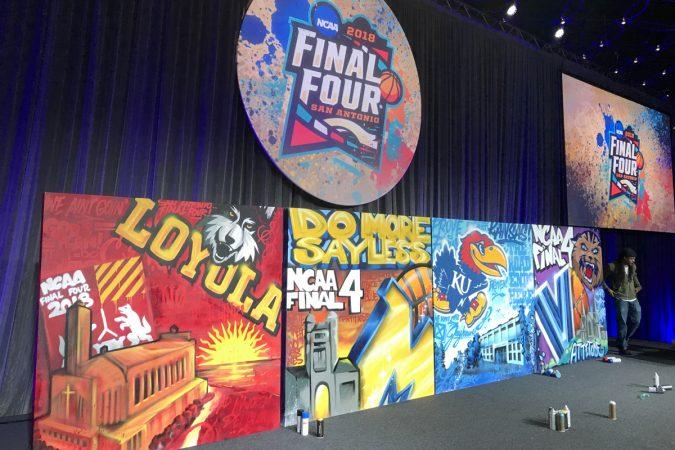 NCAA Salute to the Final Four 2018, San Antonio, Texas (Image courtesy of Glossblack)