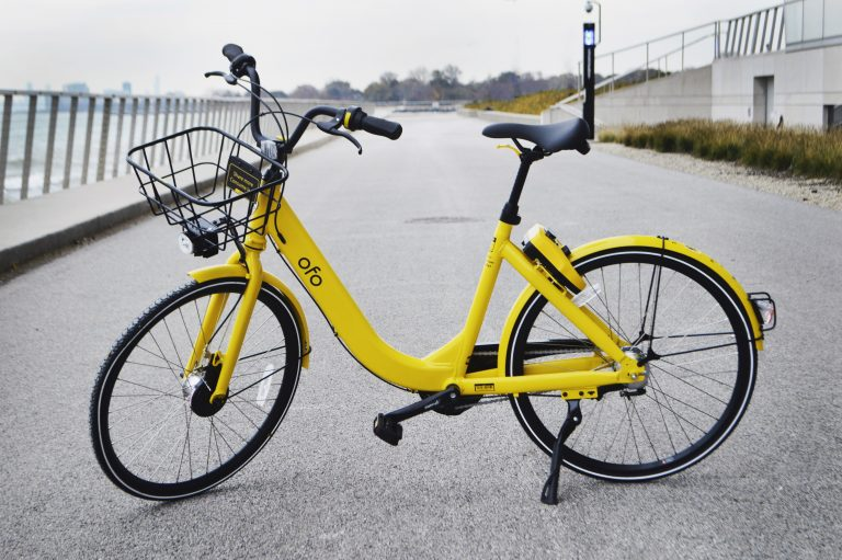 Ofo is bringing its dockless bike share technology to Camden. (Photo credit: Ofo)