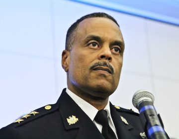 Philadelphia Police Commissioner Richard Ross (Kimberly Paynter/WHYY)