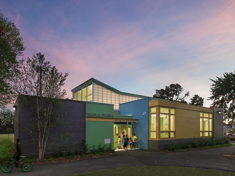 Sturgis Recreation Center (Credit: SMP Architects/ Sam Oberter Photography)