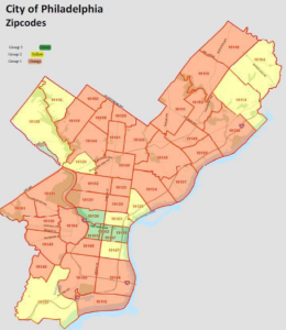 northeast philadelphia zip codes map Want To Move To A Better Neighborhood In Philly Help Is On The Way Whyy northeast philadelphia zip codes map