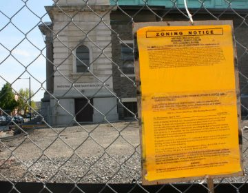Zoning notice (PlanPhilly/file)