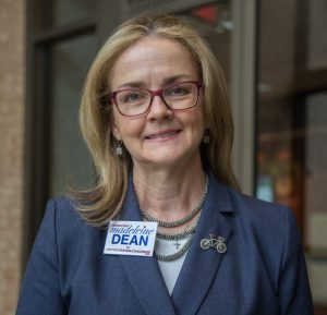 Madeleine Dean is running for the new PA 4th Congressional district.
