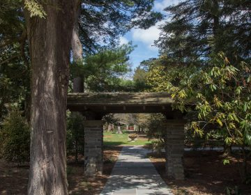 Stoneleigh Gardens is the newest preserve from Natural Lands. Formally the estate of the Haas Family, the gardens and grounds will open to the public in May 2018. Many of the structures are over 100 years old. (Emily Cohen for WHYY)