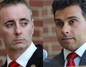 Brian Fitzpatrick, the Republican incumben in Bucks County's 1st Congressional District, is facing a challenge from pro-Trump candidate Dean Malik.