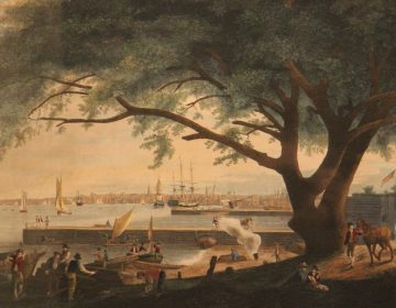 William Birch's paintings capture Philadelphia in the late 18th and early 19th centuries. (Library Company of Philadelphia)