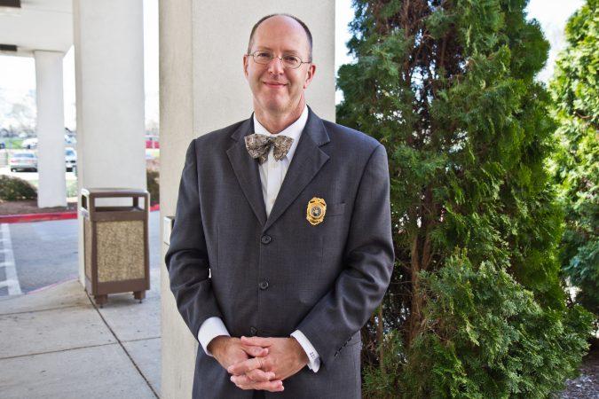 Leo L. Dunn is the chairmanof thePennsylvania BoardofProbationandParole. (Kimberly Paynter/WHYY)