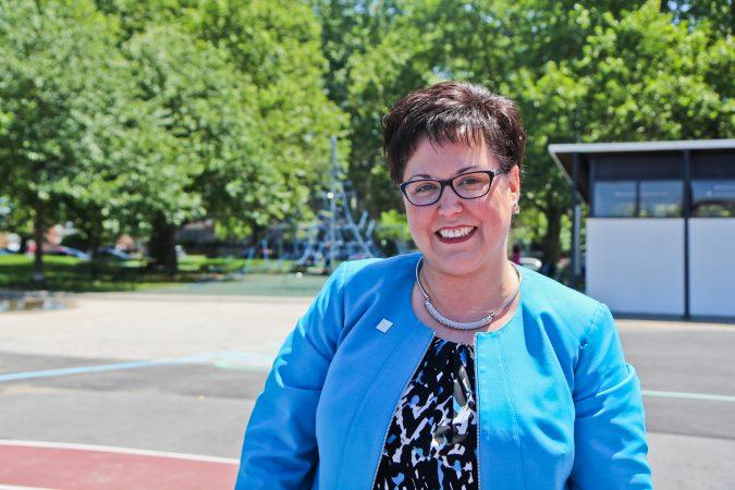 Kathryn Ott Lovell is commissioner of Philadelphia's Parks and Recreation Department. (Kimberly Paynter/WHYY)