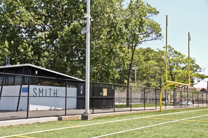 Smith Playground in South Philadelphia. (Kimberly Paynter/WHYY)