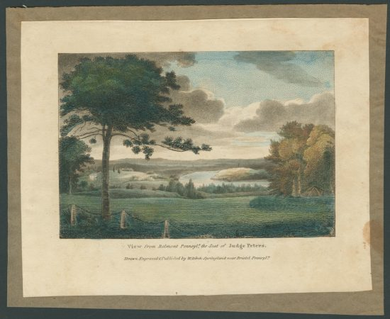 The View from Belmont, by William Birch. (Courtesy of The Library Company of Philadelphia)