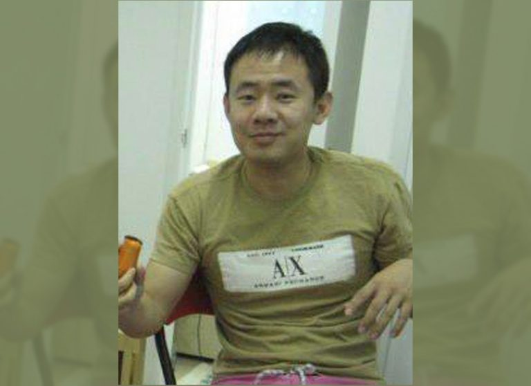 This 2009 handout photo released by a friend of Xiyue Wang shows Xiyue Wang at his apartment in Hong Kong, China. Princeton University professor Stephen Kotkin, who advised Wang, a Chinese-American researcher sentenced to prison in Iran, defended his former student as innocent of all charges against him. Kotkin told The Associated Press by email that Xiyue Wang is a
