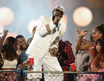 In this Nov. 6, 2015, file photo, R. Kelly performs during the 2015 Soul Train Awards at the Orleans Arena in Las Vegas.