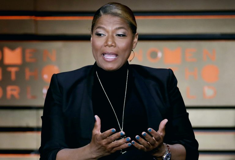 In this April 6, 2017, file photo, Queen Latifah speaks during the Women in the World Summit at Lincoln Center in New York.  (Richard Drew/AP Photo, File)
