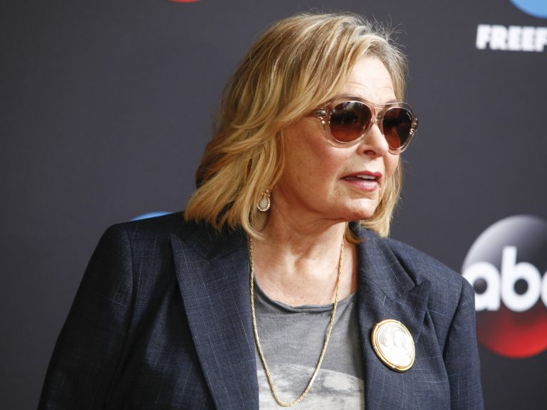 Roseanne Barr attends the Disney/ABC/Freeform 2018 Upfront Party at Tavern on the Green on Tuesday, May 15, 2018, in New York. (Photo by Andy Kropa/Invision/AP)