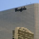 This June 26, 2013 photos shows the exterior of the Borgata casino in Atlantic City, N.J.  (AP Photo/Wayne Parry)