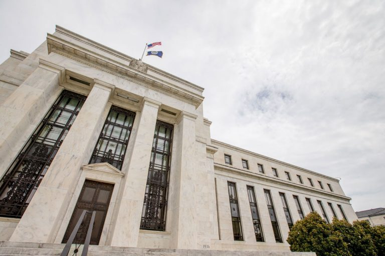 This June 19, 2015, file photo shows the Marriner S. Eccles Federal Reserve Board Building in Washington. (Andrew Harnik/AP Photo, File)