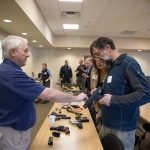 Emergency room doctors from the University of Colorado School of Medicine take part in a new kind of firearm training. (Courtesy of Department of Emergency Medicine, University of Colorado School of Medicine)