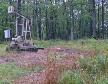 An unconventional drilling site is prepared in Butler County, Pennsylvania in the winter of 2014. (Pennsylvania Department of Environmental Protection)
