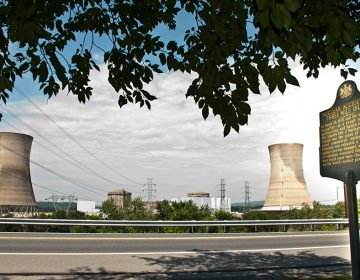 Three Mile Island nuclear plant is scheduled to be dismantled between 2034 and 2044. (Joanne Casarro/WITF)