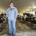 Alisha Risser owns and runs a dairy farm in Lebanon county. Having been in the business for 17 years, Risser said consistently low milk prices in recent years have been really hard for farmers.