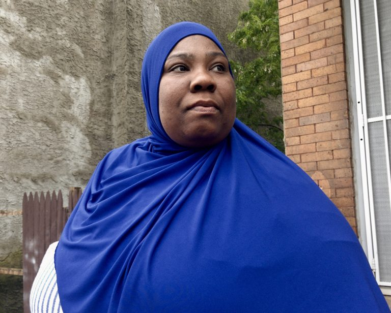 Nekia Pressley was accused of stealing a hoagie as she carried a package with prescription medication. (Darryl C. Murphy for WHYY)