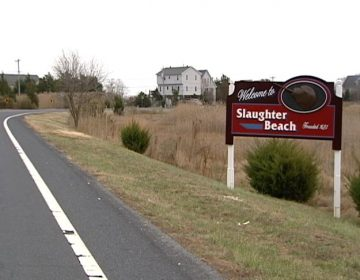 Slaughter Beach is a sleepy little southern Delaware town situated along the Delaware Bay in Sussex County. (Charlie O'Neill/WHYY)