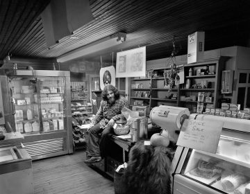Gerald Gordon, owner of the General Store and