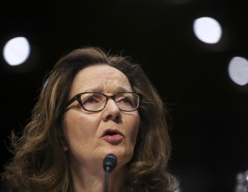 CIA nominee Gina Haspel testifies before the Senate intelligence committee on Wednesday. Alleged Sept. 11 planner Khalid Sheikh Mohammed says he has information that could be relevant to her nomination. Pablo Martinez Monsivais/AP