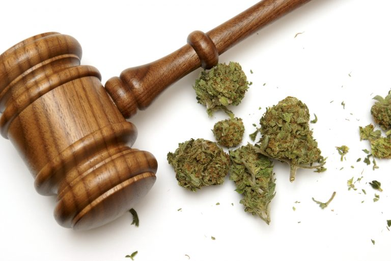 The finale hour of Sunday morning's marathon General Assembly session saw lawmakers give final approval to a bill that would guarantee expungement to those with one conviction of marijuana possession or use. (bigstockphoto.com)