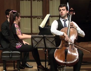 Cellist Timotheos Petrin and Pianist Chelsea Wang