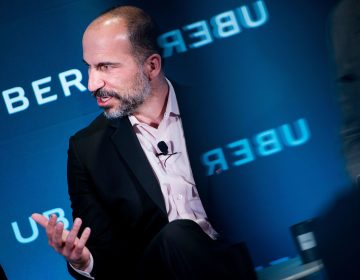 CEO Dara Khosrowshahi has said he is committed to changing the company's culture to have a new emphasis on accountability and earning trust. (Brendan Smialowski/AFP/Getty Images)