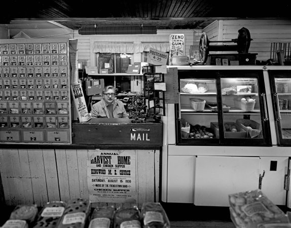 Jim Cullen, former Lumberville Postmaster. (© by Bruce Katsiff)