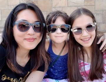 Christine Koh and her daughters. (Provided)