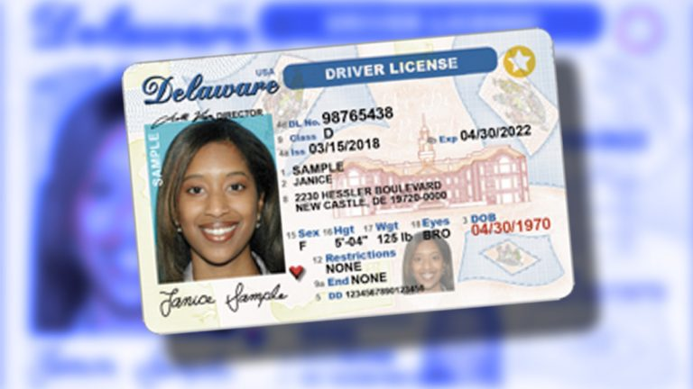 (Courtesy of Delaware Department of Motor Vehicles)