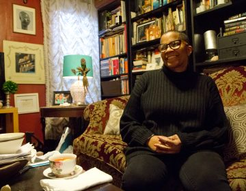 Domestic Violence survivor Renee Norris Jones at her home in Nicetown. Norris Jones said that despite enduring years of abuse, nothing gave her more fear than when she was confronted with a gun. (Kimberly Paynter/WHYY)