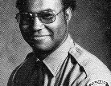 Ron Stallworth (pictured here in 1975) was the first black detective in the history of the Colorado Springs Police Department. (Courtesy of Ron Stallworth)