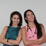 Drs. Angela Castellano and Edith Bracho Sanchez, both pediatricians, produce and host