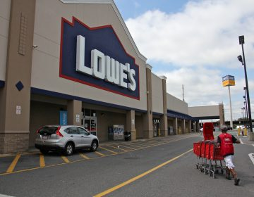 The Lowe's home improvement store on North 50th Street in West Philadelphia.