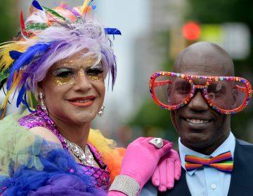 Scene from Philadelphia's 30th annual PrideDay on Sunday, June 10, 2018.(Bastiaan Slabbers for WHYY)