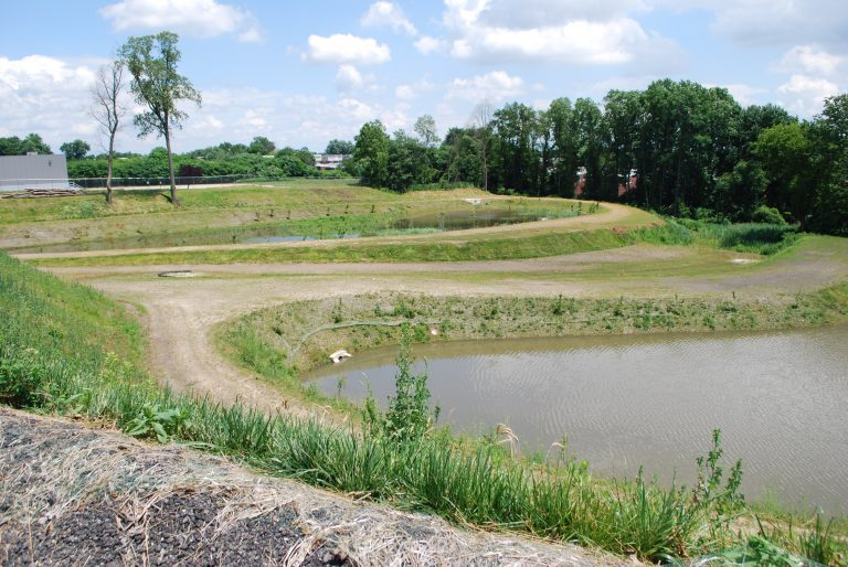 A new stormwater basin in Northeast Philadelphia will reduce runoff into the city's sewer system.