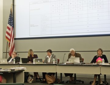 The School Reform Commission met for the last time on Thursday. (Kimberly Paynter/WHYY)
