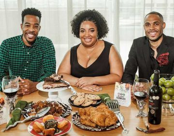(From left) Derek Robinson, Falayn Ferrell and Warren Luckett make up Black Restaurant Week's national team. (Provided)