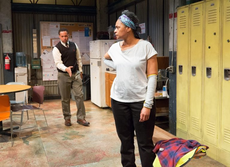 Brian Marable and Melanye Finister in the People's Light production of